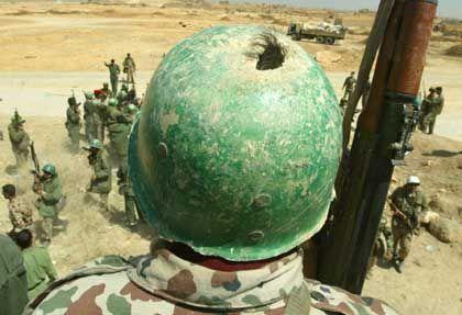 Angeblich soll Saddam noch über 40.000 Soldaten verfügen