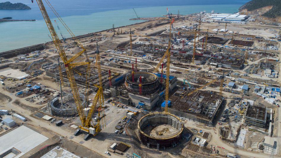 AKW-Neubau in Mersin, Türkei (2020): Einige Neubau-AKW werden derzeit sogar in Ländern errichtet, die bislang keine Atomkraft nutzen, die Türkei zählt dazu