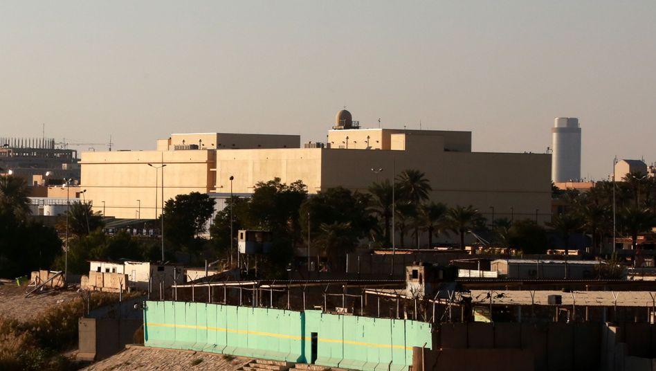 """US-Botschaft in der """"Grünen Zone"""" der irakischen Hauptstadt Bagdad"""
