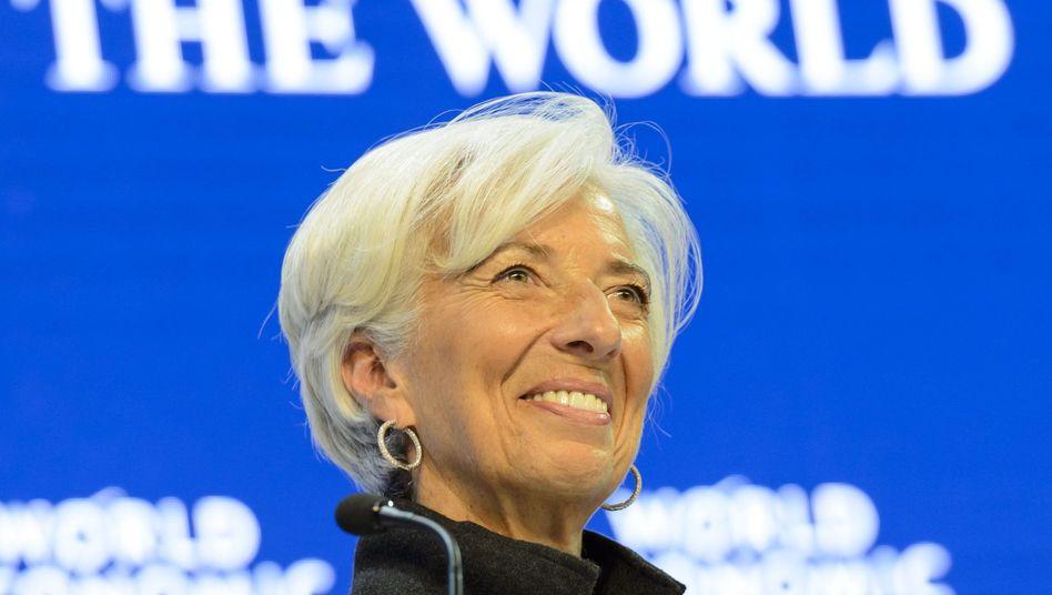 Einflussreich: IWF-Chefin Lagarde beim Weltwirtschaftsforum