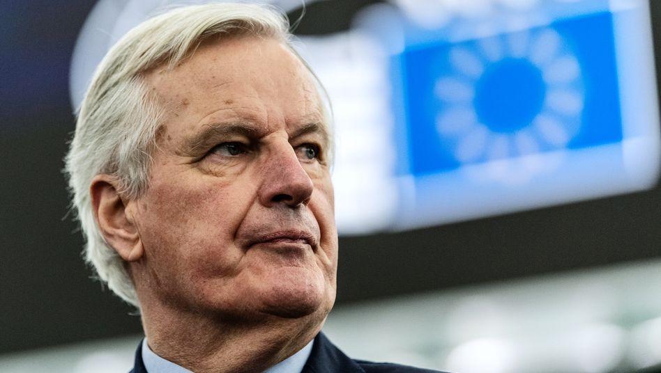 Chefunterhändler der EU-Kommission Michel Barnier