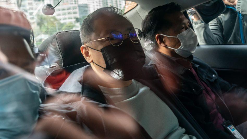 Der festgenommene Professor Benny Tai wollte die Opposition bei den Vorwahlen im Sommer stärken.