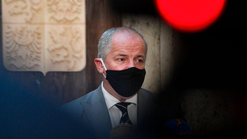 Roman Prymula nach seiner Ernennung zum neuen Gesundheitsminister Tschechiens