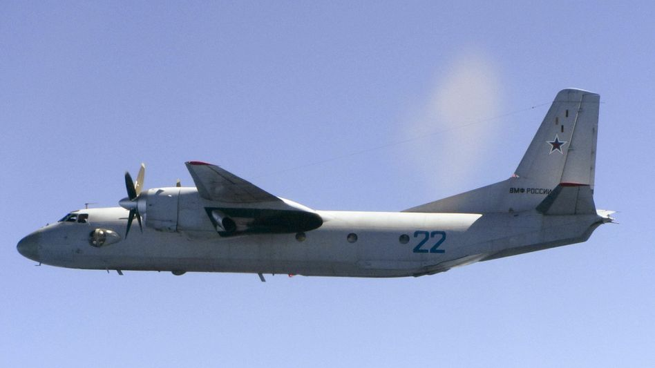 Russische Antonow 26 über Estland (Archivbild von 2015)