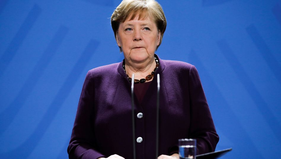 Angela Merkel hat sich in ihrer Amtszeit außer zur traditionellen Neujahrsansprache noch nie in einer Fernsehansprache an die Menschen gewandt