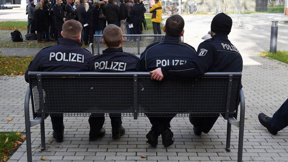 Polizeischüler der Berliner Polizeiakademie