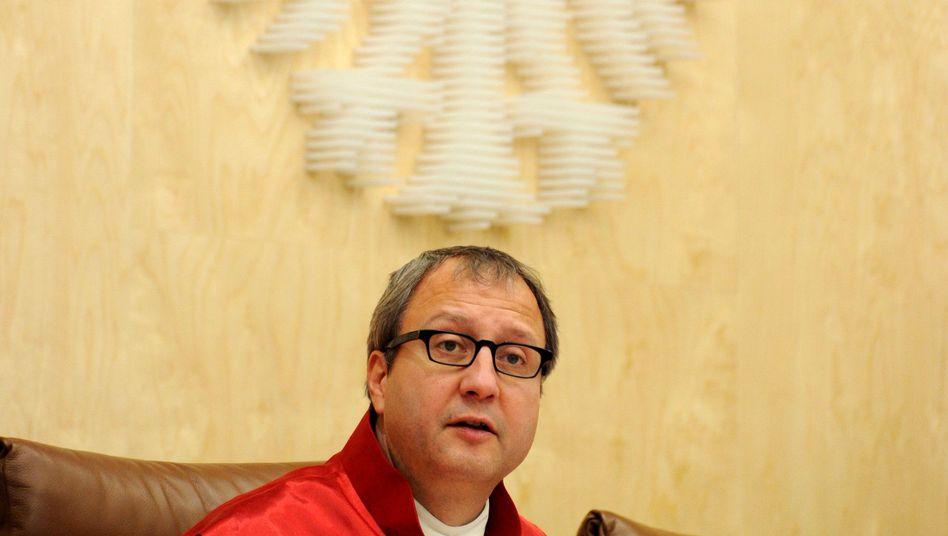 """Gerichtspräsident Voßkuhle: Äußerungen """"in nicht unproblematischer Weise"""""""