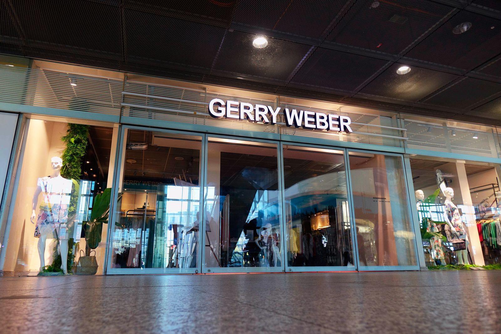 EINMALIGE VERWENDUNG Gerry Weber Shop