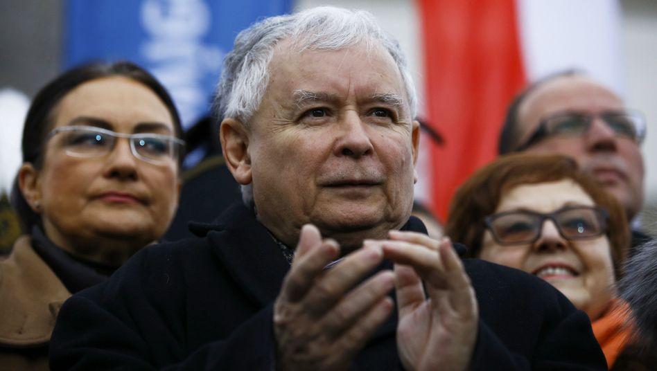 Jaroslaw Kaczynski: Demokratie nicht in Gefahr