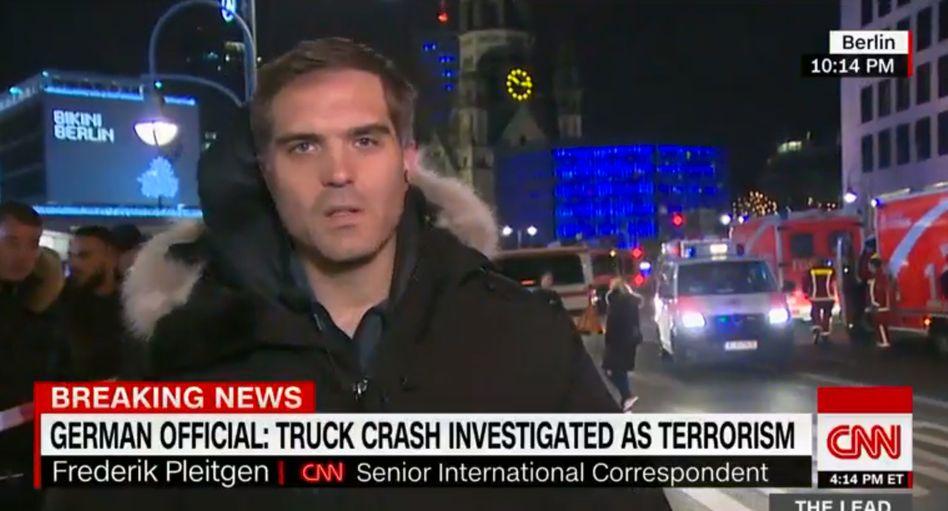 CNN-Korrespondent Frederik Pleitgen in Berlin