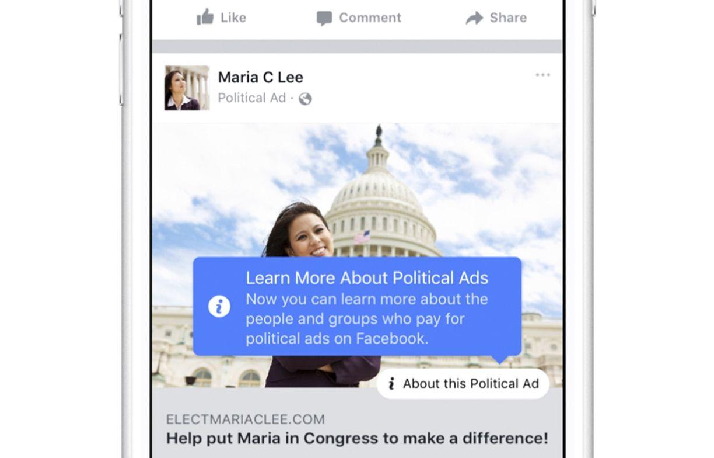 Werbung / Facebook