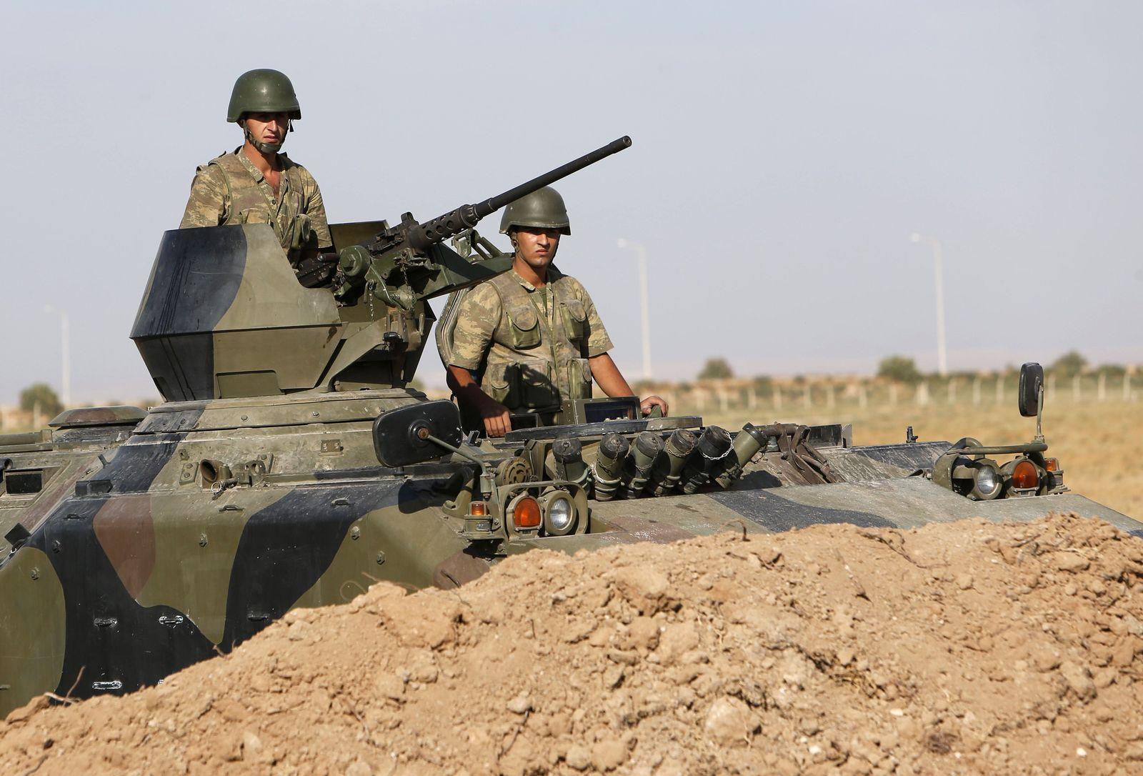 Türkische Soldaten / Türkei-Syrien