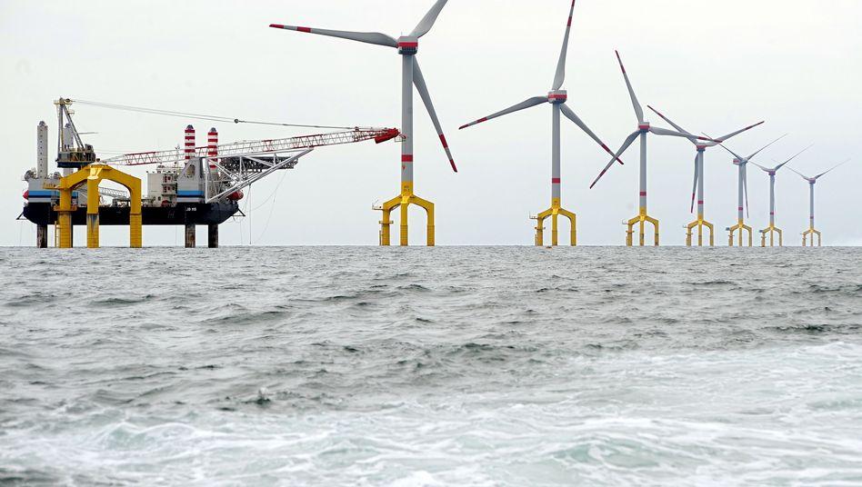 Windpark in der Nordsee: Zentrale Regelung im EEG verstößt wohl gegen EU-Recht