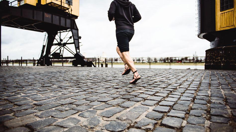Emanuel Bohlander beim Laufen