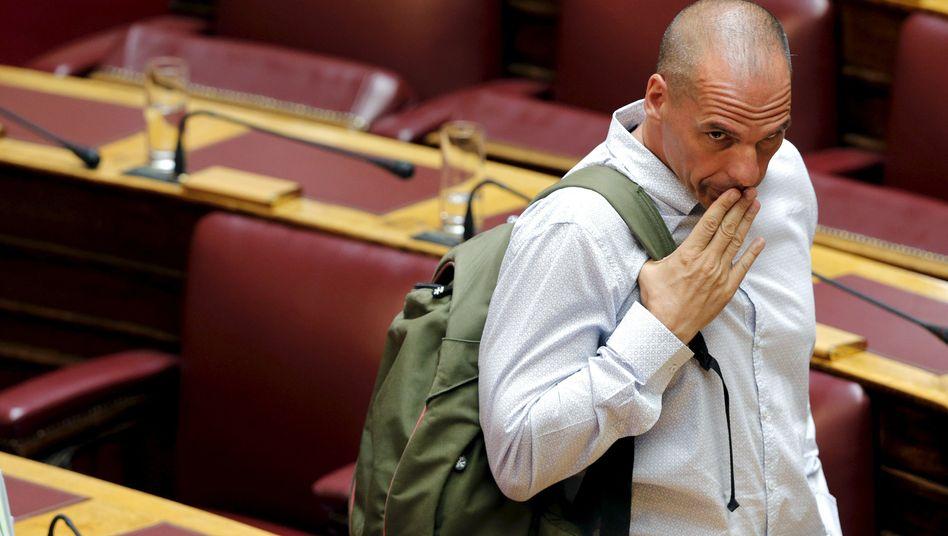 """Ex-Minister Varoufakis im Parlament: """"Von Brüssel gesteuert"""""""