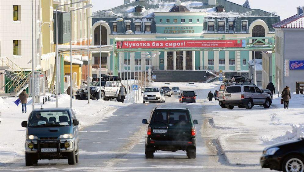 Nordosten Russlands: Lichtspiele in Tschukotka