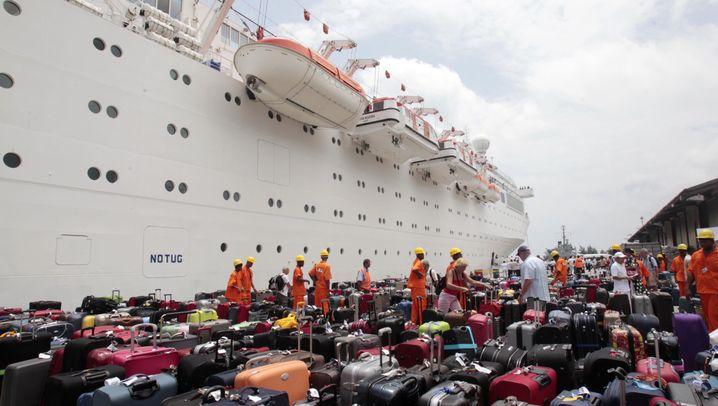 """""""Costa Allegra"""": Havariertes Kreuzfahrtschiff erreicht die Seychellen"""