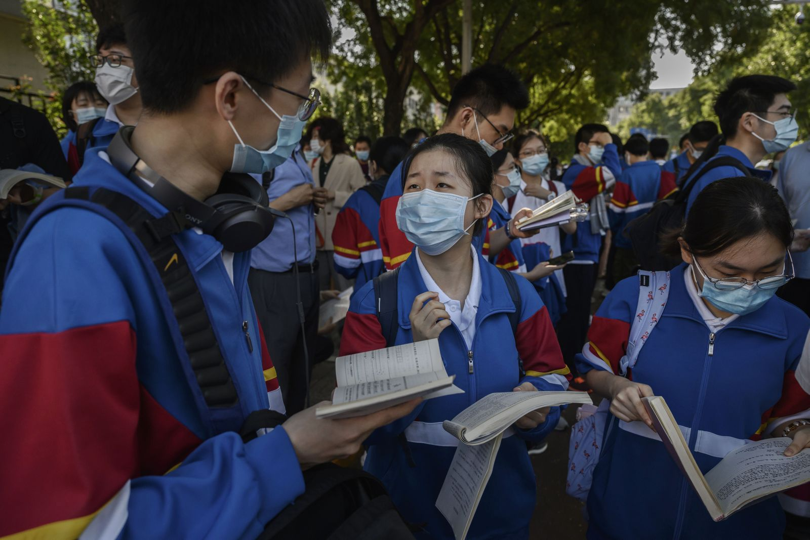 China Students Take College Entrance Exams Amid COVID-19 Pandemic