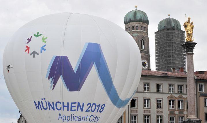 Werbeaktion für Münchner Olympia-Kandidatur: Was machen die Garmischer Bauern?