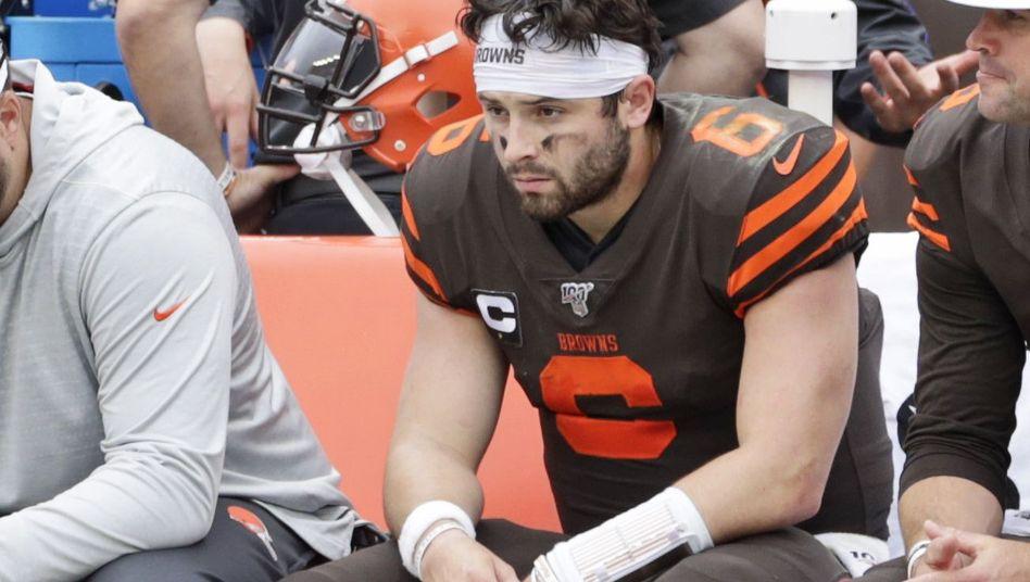 Cleveland Browns Quaterback-Hoffnung Baker Mayfield