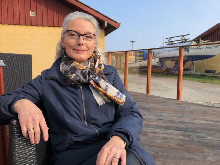 Susanne Svarrer spricht für die Lindholm-Gegner - und bangt um ihr Zuhause