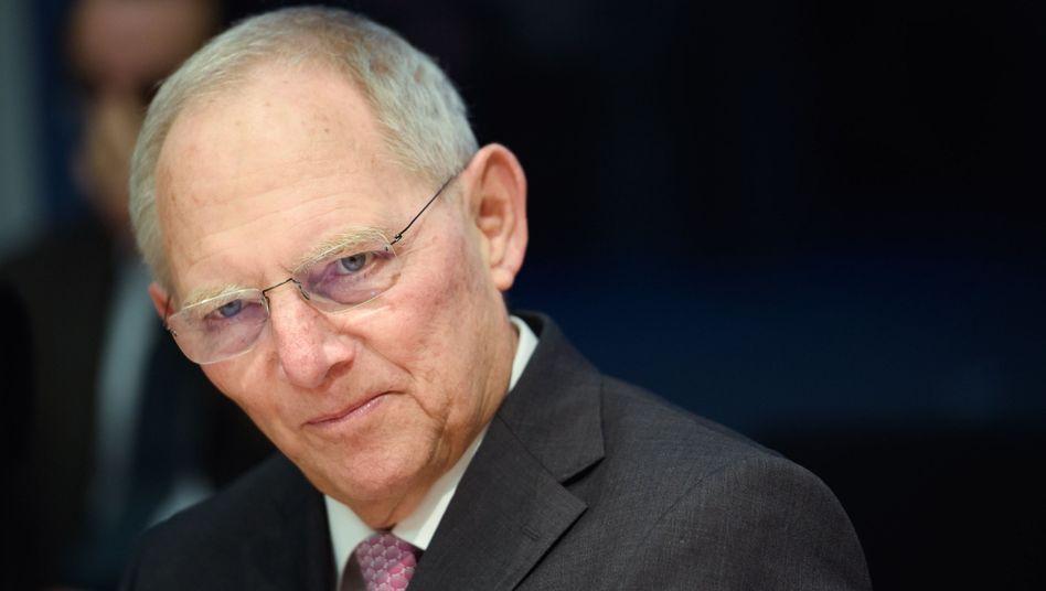 """Wolfgang Schäuble: """"Bereich von Witzveranstaltungen"""""""