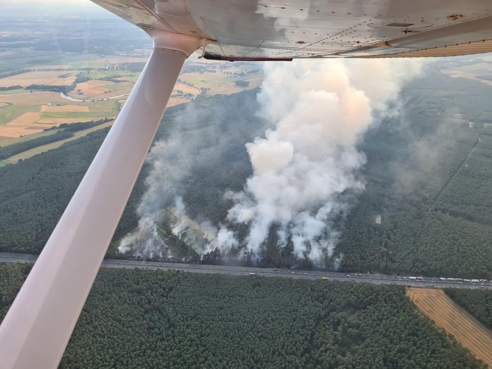 Waldbrand im Heidekreis