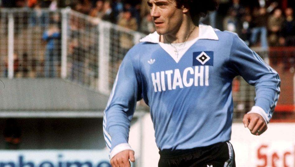 Mittelfeldspieler Keegan: Im Sommer 1977 zum HSV gewechselt