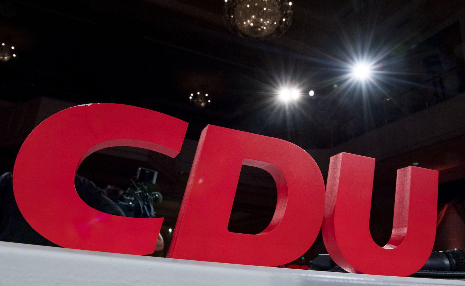 CDU Sachsen Anhalt Parteitag