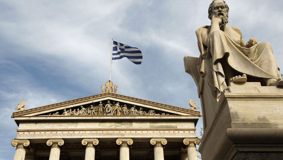 Sokrates in Athen: Zahlungsausfall im März