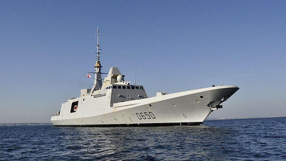 Französische DCNS-Fregatte (Archivbild): Vom deutschen Steuerzahler mitbezahlt?