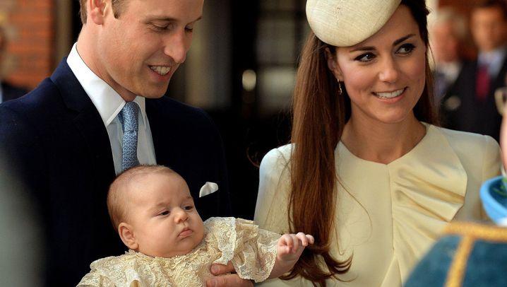 Royal Baby: Die Taufe des kleinen Prinzen