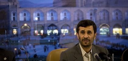 "Iranian President Mahmoud Ahmadinejad says: ""We have no interest in building a nuclear weapon."""