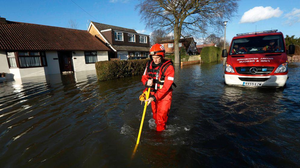 """Hochwasser in England: """"Es wird schlimmer, bevor es besser wird"""""""