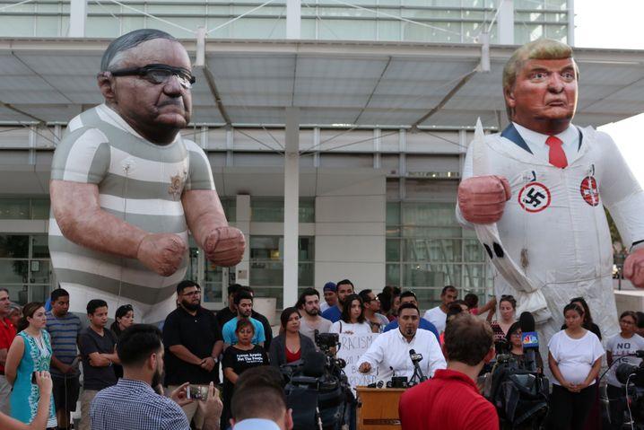 Protest in Phoenix nach der Begnadigung