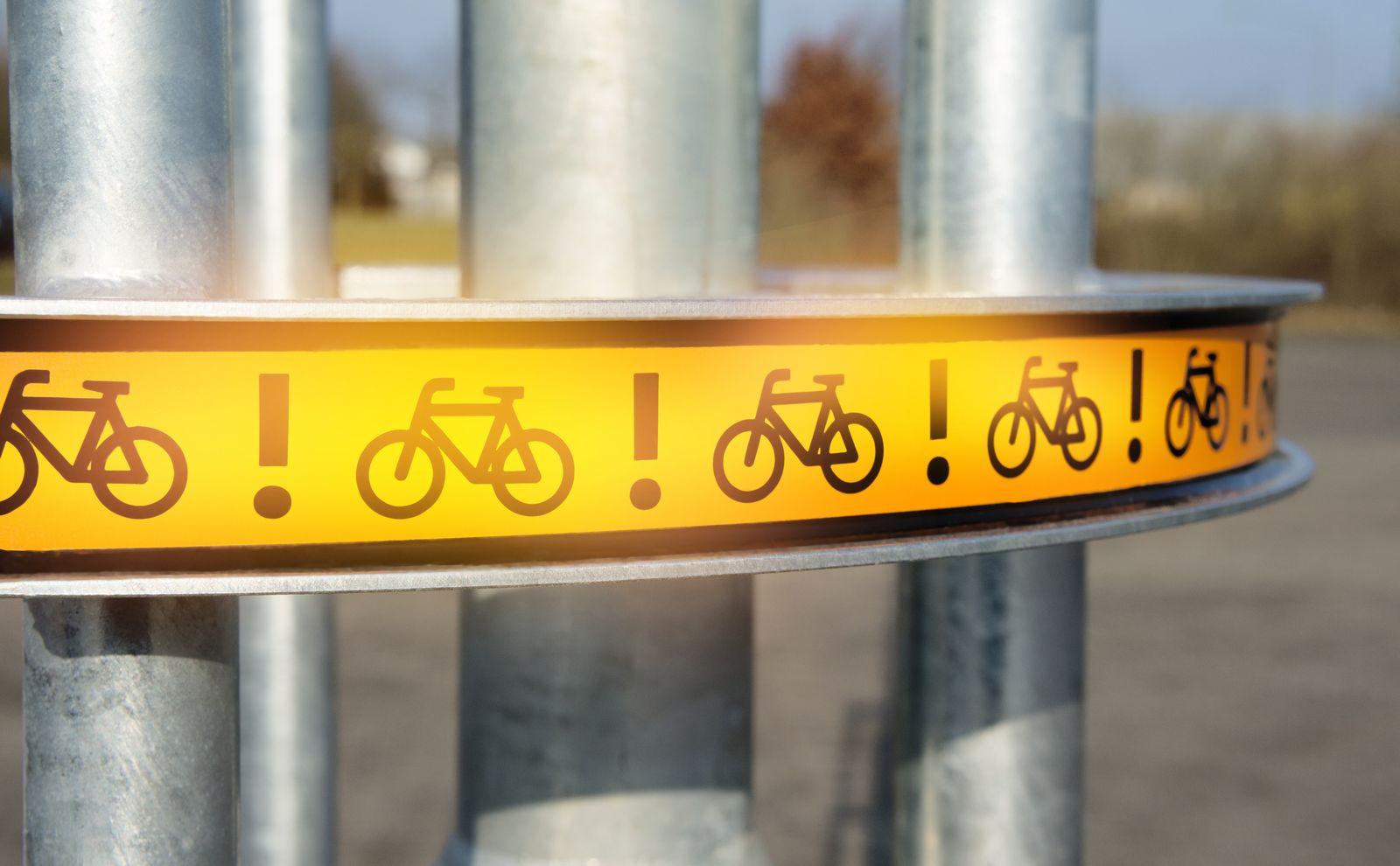 EINMALIGE VERWENDUNG bike flash