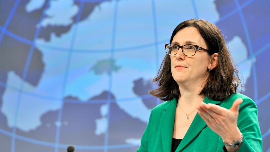 EU-Handelskommissarin Malmström (Archiv)