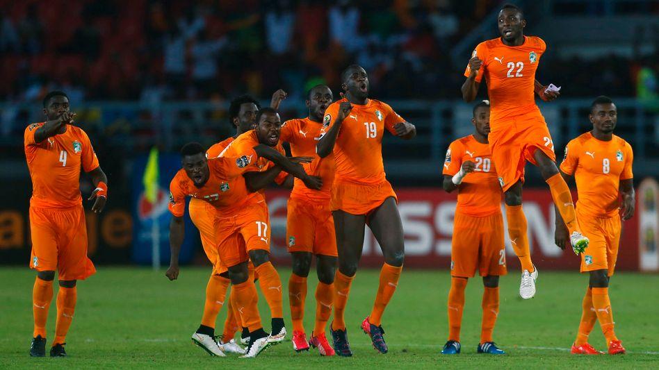 Jubel der Elfenbeinküste: Zweiter Sieg im Afrika-Cup