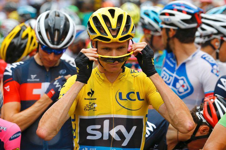 Christopher Froome gewann die Tour de France vier Mal