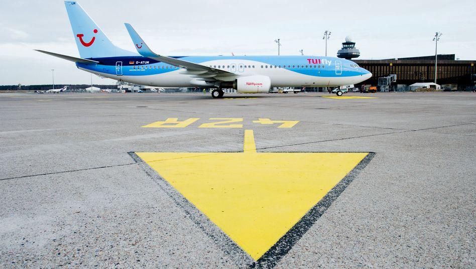 Boeing 737-800 von TUIFly
