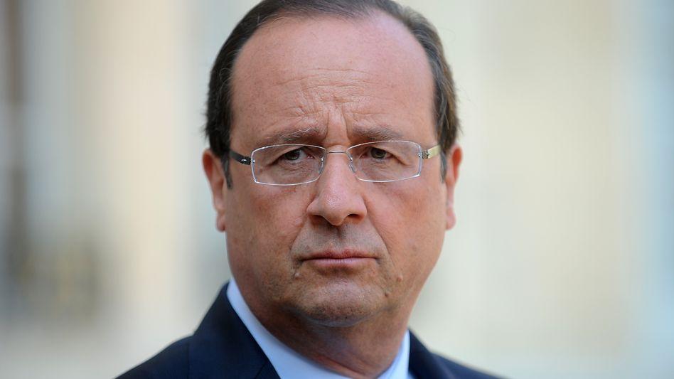 """Staatschef Hollande: """"Alle Optionen liegen auf dem Tisch"""""""
