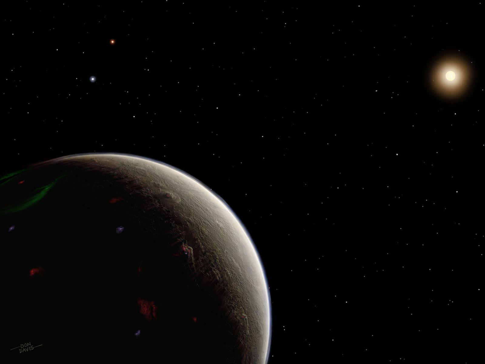 Planet der Sonne HD 26965