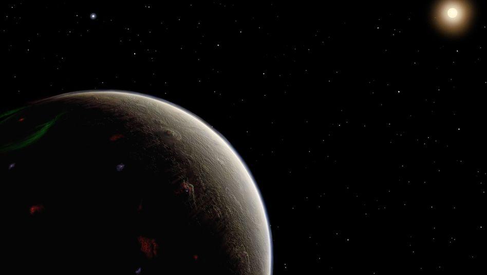 Heimatplanet von Mr Spock (grafische Darstellung)