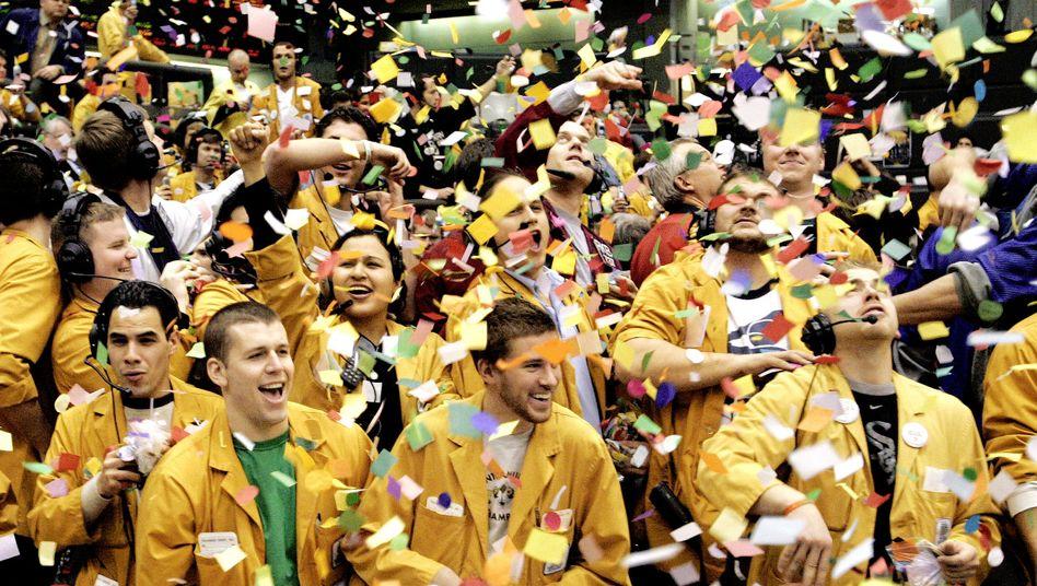 Börsenmakler in Chicago, 2005