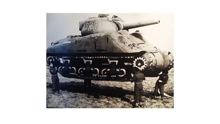 Die Geisterarmee: Federleichte Panzer