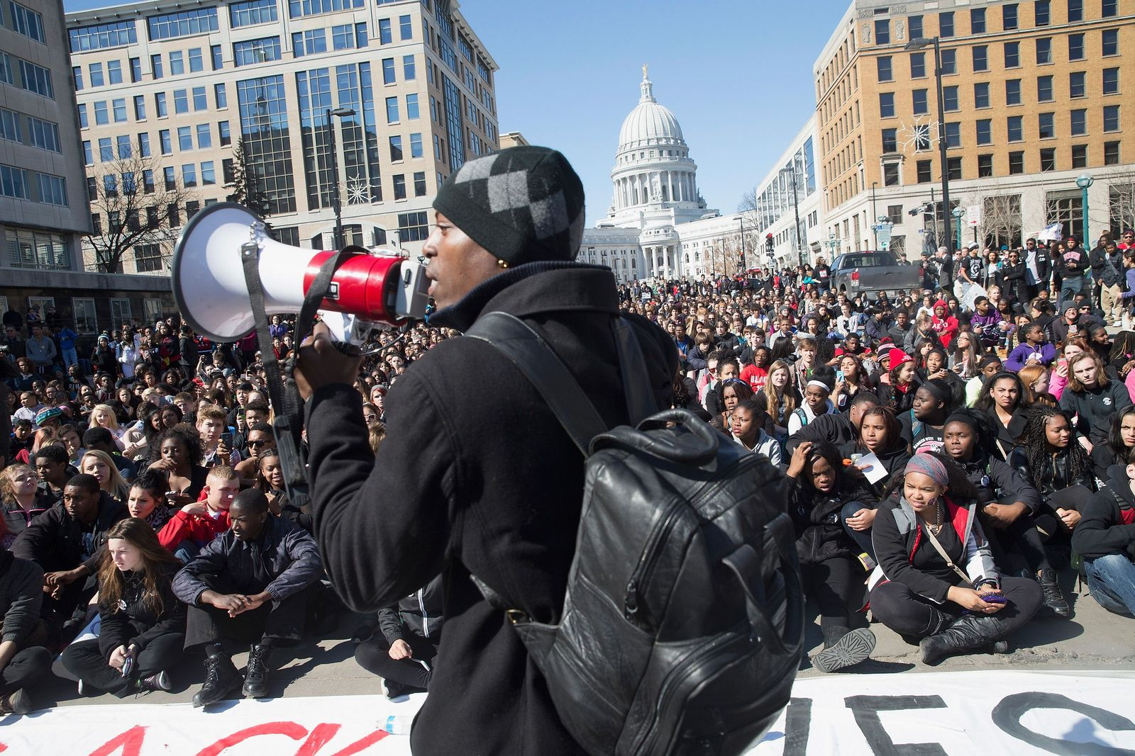 Wisconsin/ Polizeigewalt/ Protest