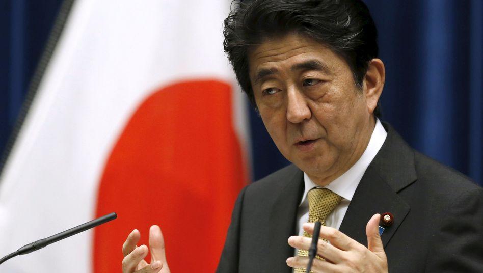 """Japans Premierminister Shinzo Abe (Archiv): """"Ein großartiges Ergebnis für den Asien-Pazifik-Raum"""""""