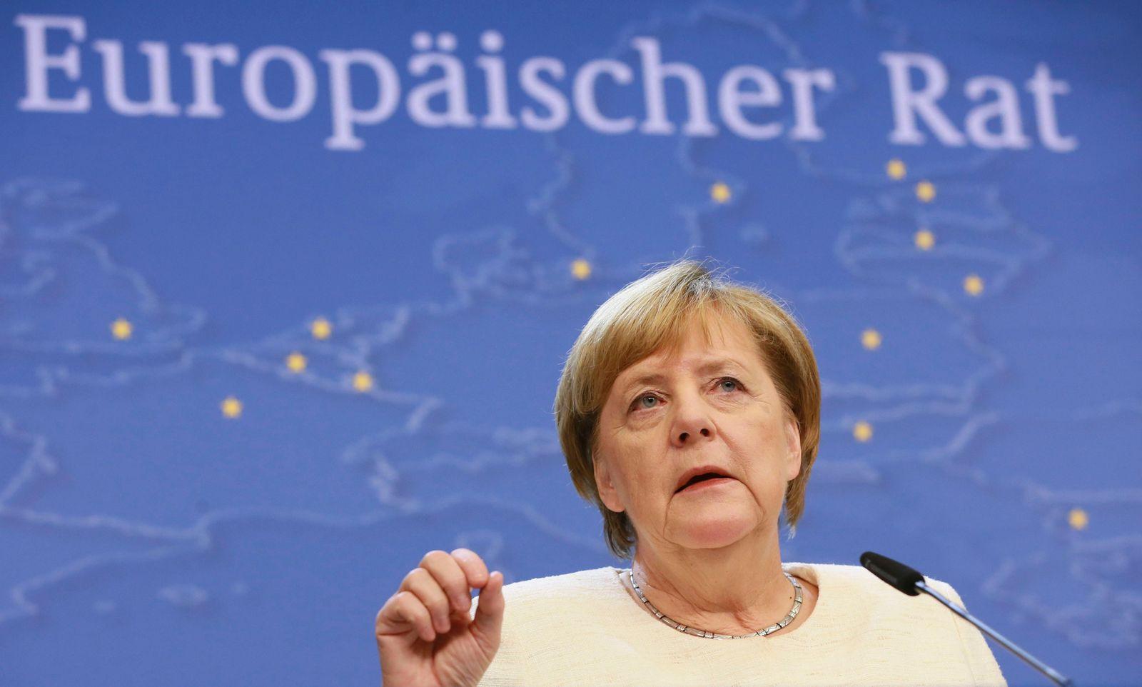 Merkel / EU-Gipfel
