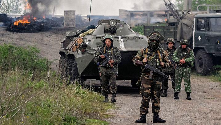 "Offensive bei Slowjansk: Ukraine meldet ""viele Tote"""
