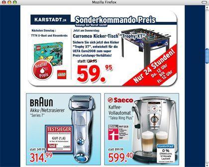 Karstadt-Werbung: Historische Unkenntnis in der Werbeabteilung